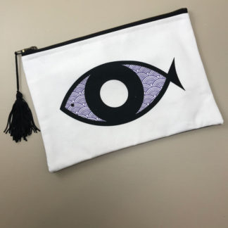 Waves Fish Eye Pouch